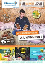 Prospectus E.Leclerc : NOS PRODUCTEURS A L'HONNEUR !