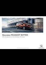 Promos et remises  : Peugeot Rifter