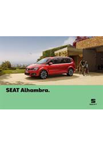 Catalogues et collections Seat : Seat Alhambra