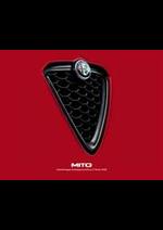 Prospectus Alfa Roméo : Alfa Romeo Mito
