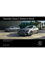 Journaux et magazines Mercedes Benz : Mercedes-Benz Classe C Berline et Break