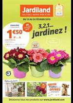 Prospectus Jardiland : 3, 2, 1… jardinez