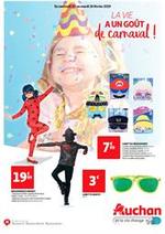 Prospectus Auchan : La vie a un goût de carnaval !