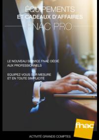 Catalogues et collections Fnac Louvain La Neuve : Catalogue Fnac Pro