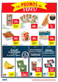 Prospectus Carrefour Market SPY : Les promos du frais