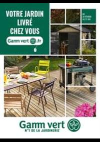Prospectus Gamm vert BOURBONNE LES BAINS : Votre jardin livré chez vous