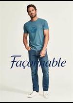 Prospectus Façonnable : Collection Homme