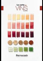 Promos et remises  : Carte des vins 2018-2019