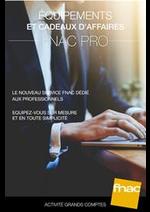 Prospectus Fnac : Catalogue Fnac Pro