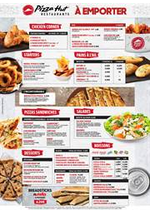 Promos et remises  : Pizza Hut - À emporter