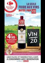 Prospectus Carrefour Market : La seule foire aux vins