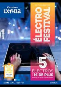 Prospectus Ixina Epinal : Électro Festival