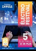 Prospectus Ixina : Électro Festival