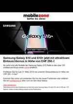 Prospectus Mobilezone : Samsung Galaxy S10 und S10+