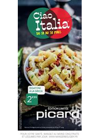 Prospectus Picard VILLEMOMBLE : Ciao Italia