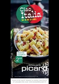 Prospectus Picard PANTIN : Ciao Italia