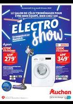 Prospectus Auchan drive : Electro Show