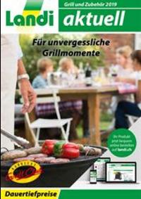 Prospectus Landi : Grill und Zubehör 2019