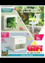 Prospectus Gifi : On prépare le printemps!