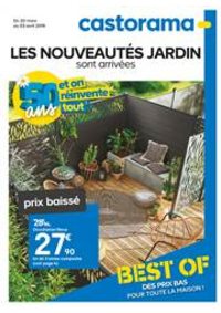 Prospectus Castorama CHAMBOURCY : Les Nouveautés Jardin