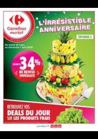 Prospectus Carrefour Market THONON LES BAINS  : L'irrésistible anniversaire 2
