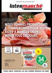 Prospectus Intermarché Super Bourg-La-Reine : NOUS SOMMES PRODUCTEURS & COMMERÇANTS