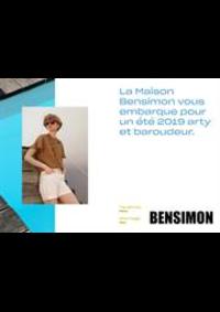 Prospectus Bensimon Saint-Germain-en-Laye : Lookbook Printemps Été