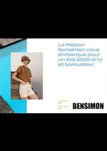 Prospectus Bensimon : Lookbook Printemps Été