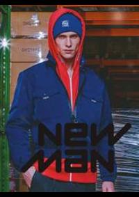 Prospectus New Man PARIS 12 RUE DE L'ANCIENNE COMEDIE : Collection Homme
