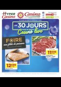 Prospectus Supermarchés Casino Clichy - Rue Martre : Les 30 jours Casino live