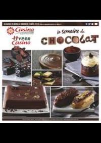 Prospectus Supermarchés Casino PARIS 28 - 34 rue de Ménilmontant : La semaine du chocolat
