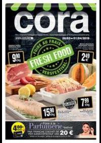 Prospectus Cora ANDERLECHT : Foire au frais chez cora 26-03