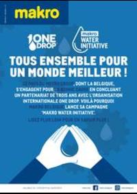 Prospectus Makro MACHELEN : Water initiative 06