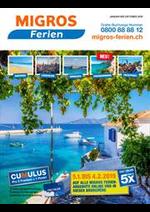 Prospectus Migros Supermarché : Migros Ferien Katalog