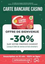 Prospectus Supermarchés Casino : Carte Bancaire Casino