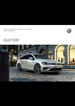 Journaux et magazines Volkswagen : Volkswagen Golf SW