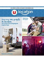 Promos et remises  : U LOCATION