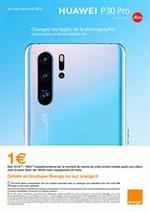 Prospectus Orange : Huawei P30 Pro
