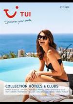 Prospectus Nouvelles frontières : Collection Hôtels & Clubs