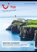 Prospectus Nouvelles frontières : Routes d'Europe