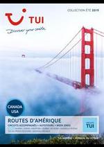 Prospectus Nouvelles frontières : Routes d'amérique