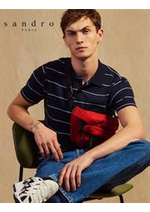 Catalogues et collections Sandro : T-Shirts & Polo Homme