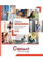 Prospectus Gedimat : Portes, fenetres, volets, garages, escaliers, dressings