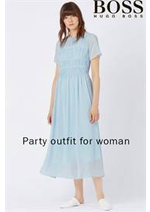 Prospectus Hugo Boss : Party outfit for woman