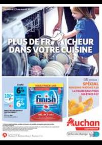 Prospectus Auchan Supermarché Paris 12 Reuilly : Plus de fraicheur dans votre cuisine