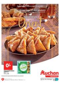 Prospectus Auchan Supermarché Paris 12 Reuilly : Délicieux Orient