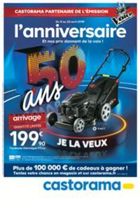 Prospectus Castorama PARIS 20 : L'anniversaire