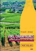 Prospectus Nicolas : Vins, Champagnes