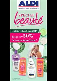 Prospectus Aldi Argenteuil : Special beauté