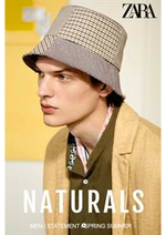 Prospectus ZARA : Naturals New Men